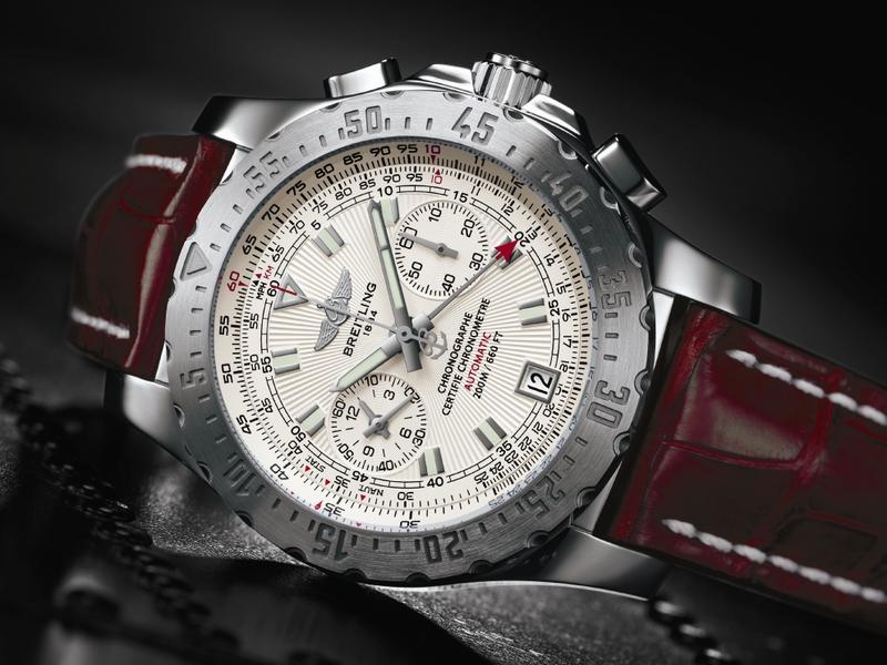 Life Saver Breitling Skyracer Chronographwatch Shop Mens Watches