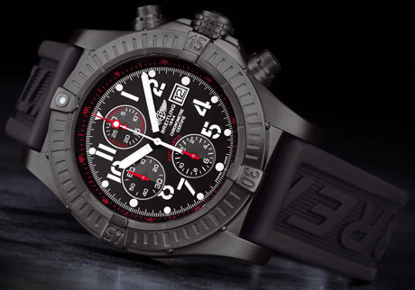 Breitling Super Avenger Chronograph shown above is one of Breitling