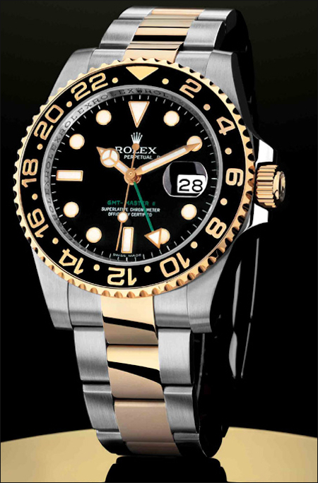 Rolex GMT-Master II with a new