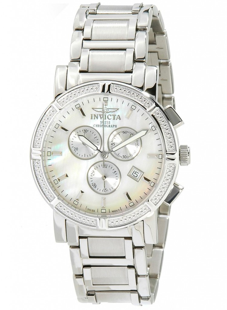 8ca298285 Invicta Mother of the Pearl Men's Swiss Chronograph Watch shop, Mens ...