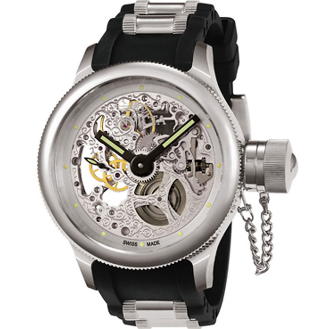 This cool invicta mechanical timepiece will give anyone an exuberating ...
