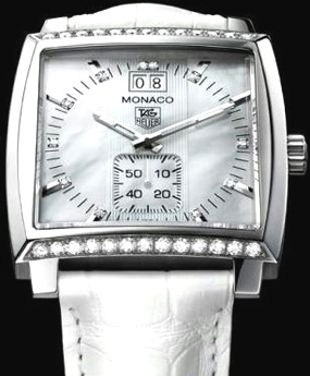 Tag Heuer Ladies Monaco - WW2115 Watch - Swisswatches.co.uk