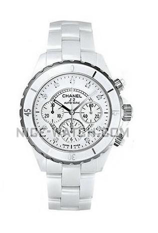chanel j12 white ceramic diamond dial chronograph mens watch watch chanel j12 white ceramic diamond dial chronograph mens watch