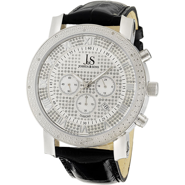 Diamond Chronograph Watch Has Lots Of SecretsWatch shop, Mens watches