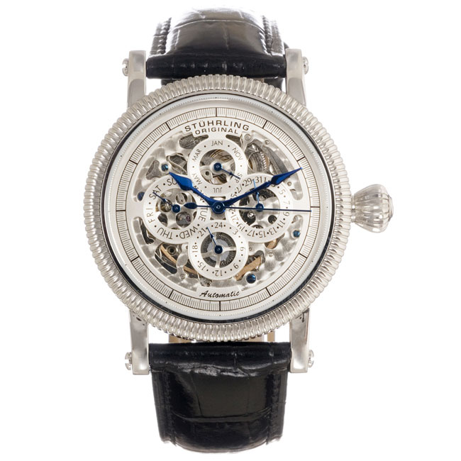 stuhrling original symphony skeleton automatic with