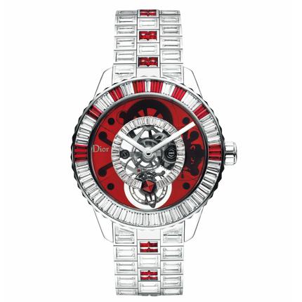 dior watches dior christal tourbillon diamonds rubies watch for luxury s sake