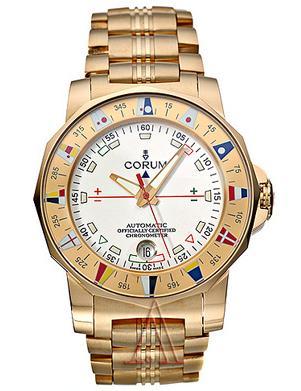 corum watches corum admiral s cup gold 18k mens watch