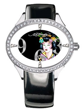 ed hardy geisha watch