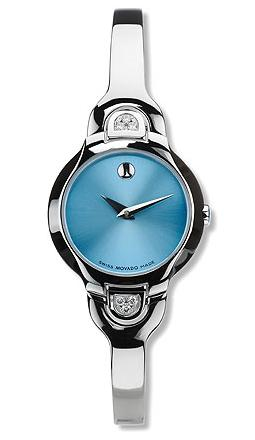 movado kara s stainless steel dainty but