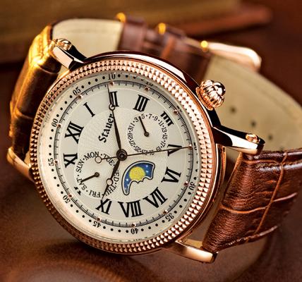 Stauer Moon Phase Watch | eBay