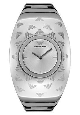 Emporio Armani Women's Silver Dial Stainless Steel