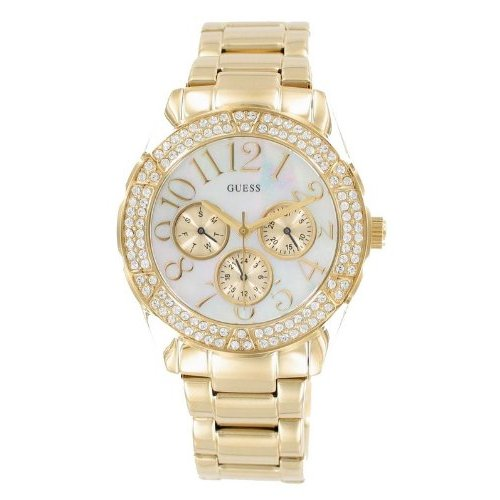 Women S Gold Guess Watches