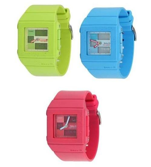Casio Baby G Square Vivid Watch