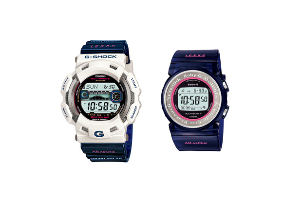 Casio G-Shock 2010 Features the Gulfman GW-9110K and the Baby-G BGD-1000K