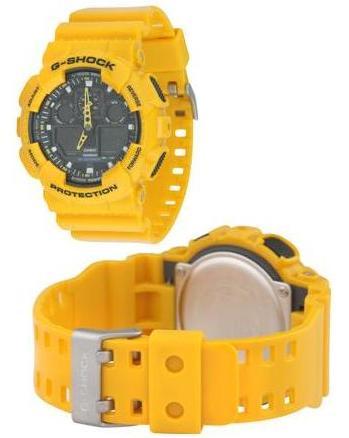 Casio G-Shock G100 Watch (yellow)