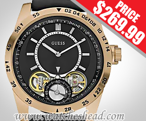 W22515G1 Guess Strategy Rose Gold Plated Mens Watch